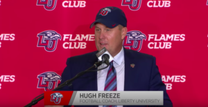 Liberty University Hires Former Ole Miss Coach Hugh Freeze