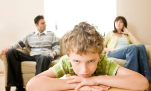 Parents' break-up more likely to harm mental health of children aged seven to 14