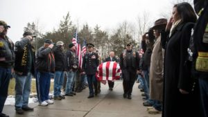 Funeral for Vietnam War vet, 77, who died alone, draws hundreds of mourners