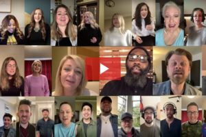 Cell Phone Choir Performs 'It Is Well With My Soul'