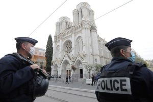 3 Dead in Knife Attack in French Church; Terrorism Suspected in 3rd Attack in 2 Months
