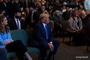 Trump and Biden Attend Church with 2 Weeks Until Election, Trump Gets Prophetic Word He Will Win