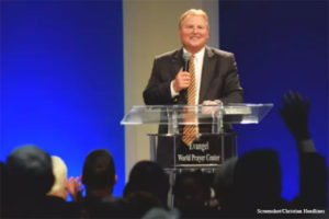 Faith Leaders Denounce Megachurch Pastor Who Cursed Those Who 'Stole the Election' from Trump
