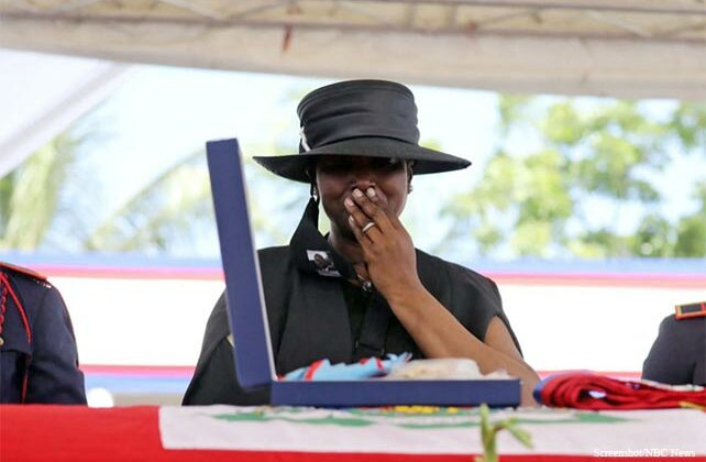 Widow of Slain Haitian President: 'When They Left, They ...